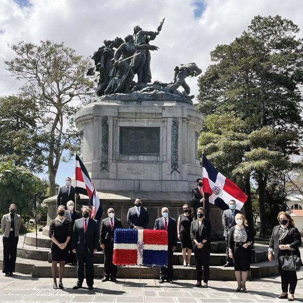 Embajada Dominicana en Costa Rica conmemora aniversario de la Independencia Nacional con diversas actividades