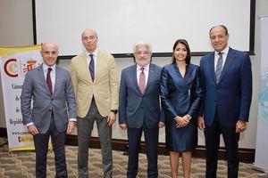 Alejandro Abellán García de Diego, Manuel Díaz, Ángel Baliño, Gina Hernández Vólquez y José Alberto Alburquerque.