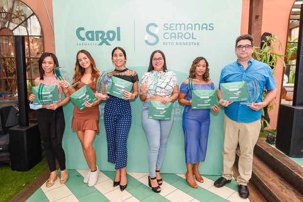 Mirlandy Bautista, Camila Ortega, Ana María Mercedes, Hillary Lugo, Jeny García y Prisco Morales.