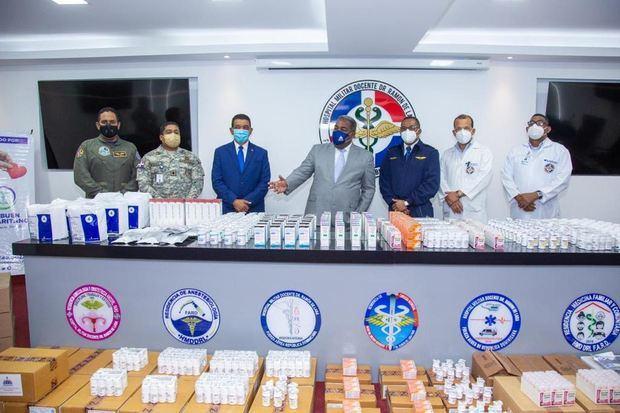 Cuerpos castrenses reciben cerca de RD$ 15 MM en donación de medicamentos a través del Gabinete Social