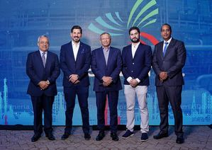 Miguel Vasquez, Walberto Céspedes, doctor Leonardo Aguilera, Miguel Feliz Díaz y Víctor Perdomo