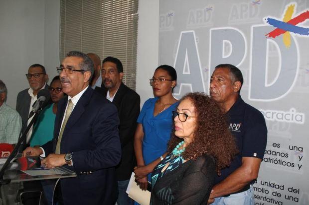 APD llama a enfrentar el Fraude Electoral para la realizaciónde elecciones libres