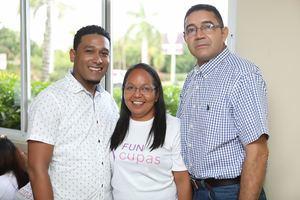 Keury Méndez, Ruth Cabrera, Manuel Cabrera
