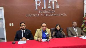 Rueda de prensa de la Fundación Justicia y Transparencia, FJT.