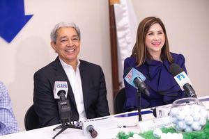 El presidente de ADOEXPO, Luis Concepción y Odile Miniño Bogaert, presidente y vicepresidente ejecutiva de ADOEXPO.