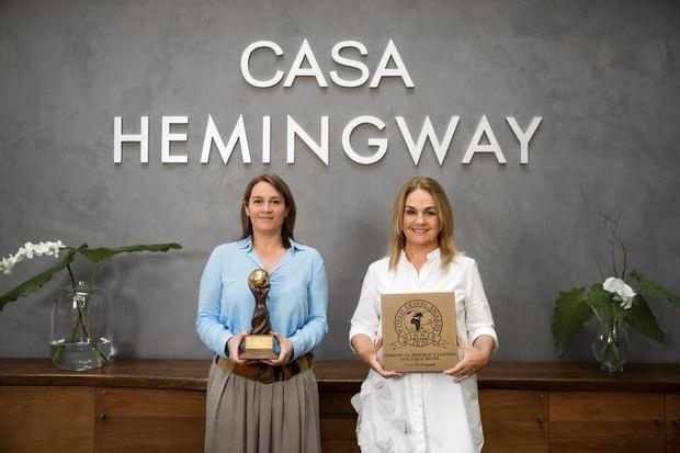 """Hotel Casa Hemingway elegido """"mejor hotel boutique de República Dominicana"""""""