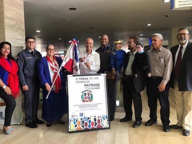 Entidades dan apertura a1ra. Feria de los Símbolos Patrios Santo Domingo 2020.