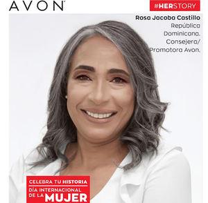 Rosa Jacoba Castillo, nacida en República Dominicana, Consejera y Promotora de Avon.