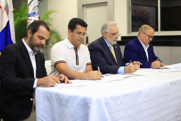 La Alcaldía del Distrito Nacional renueva acuerdo de colaboración con Lidom