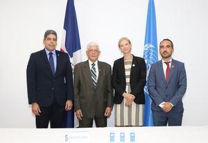 José Luis Ventura, José Santiago Reinoso, Inka Mattila y Xavier Hernández.