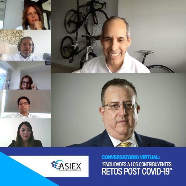 Conversatorio virtual ASIEX y DGII.