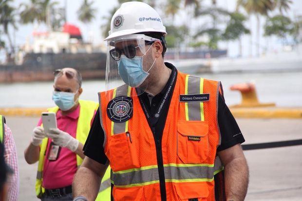 Autoridad Portuaria Dominicana culmina operativo de recibimiento de tripulantes varados