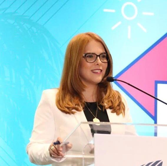 Carmen Ligia Barceló, presidenta del Clúster de Ecoturismo y Agronegocio de la provincia Hato Mayor.