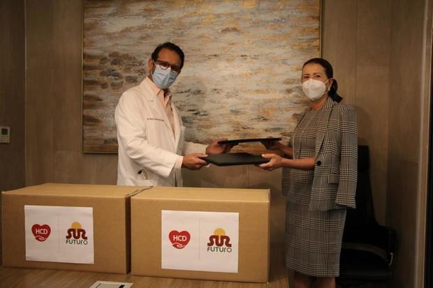 Sur Futuro y Heart Care Dominicana acuerdan trabajos en favor de sectores vulnerables al Covid-19