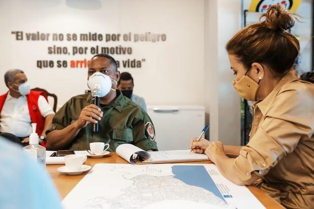 Alcaldesa Carolina Mejía activa Comité de Emergencia ante posible paso de tormenta.