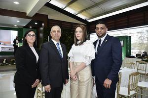 Yolanda Mercedes Espinal, Huascar Medrano, Anyelina Cruz y Melvin Rodríguez.