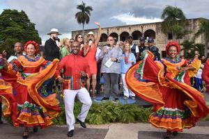"""""""El Gordo y La Flaca"""" escogió como escenario la Ciudad Colonial de Santo Domingo."""