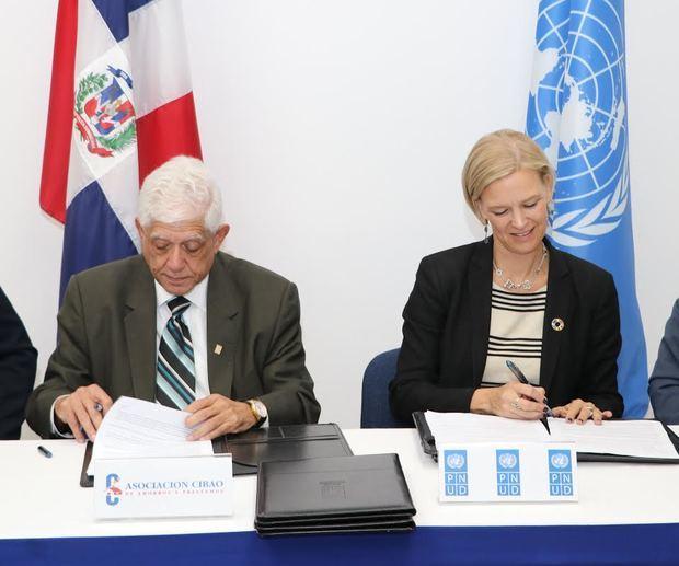 CAP firma un acuerdo con PNUD para alinear su estrategia corporativa con los ODS