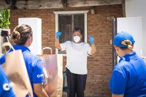 CEPM y CEB donan alimentos de primera necesidad a las familias más vulnerables a la crisis sanitaria