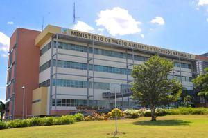 Edificio de Ministerio de Medio Ambiente y Recursos Naturales.