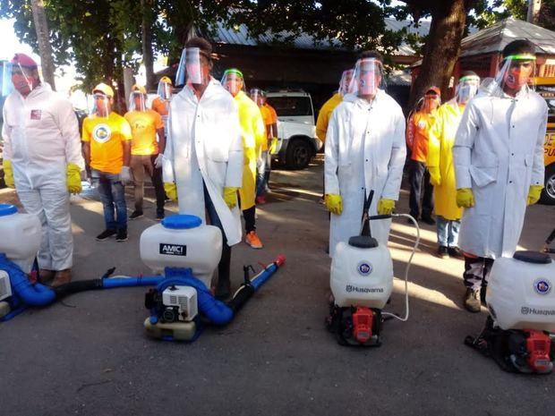 Continúan ayudas del Fondo Unidos en Solidaridad ante el Covid-19 en Puerto Plata.