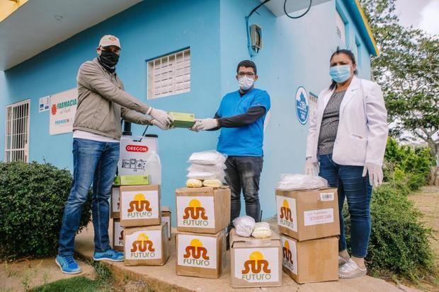 Sur Futuro realiza operativos especiales de la red de apoyo contra Coronavirus en Azua