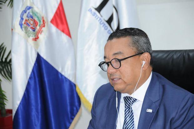 Director general del Instituto Dominicano de Aviación Civil (IDAC), Alejandro Herrera.