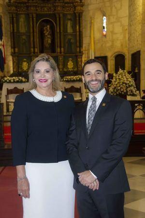Edita Castillo y Roberto Jiménez.