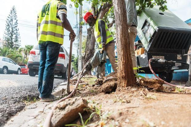 Gazcue tendrá nuevas aceras, contenes y rampas de accesibilidad
