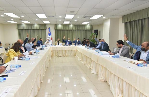 Miembros de la Comisión Bicameral.