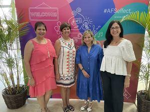 La organización AFS estrena nuevo local en Arroyo Hondo.