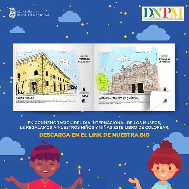 Alcaldía del DN y Patrimonio Monumental lanzan libro infantil digital sobre museos