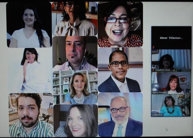 """El 11avo. aniversario de la Fundación Vida Sin Violencia  la gestora cultural Verónica Sención le dedicó la LXV1  edición del """"Café Literario"""", que se llevó a cabo el lunes 31 de agosto a las 7:00 de la noche, a través de la plataforma virtual Zoom."""