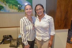 Sandra Fossar y Roseli Villavisencio.