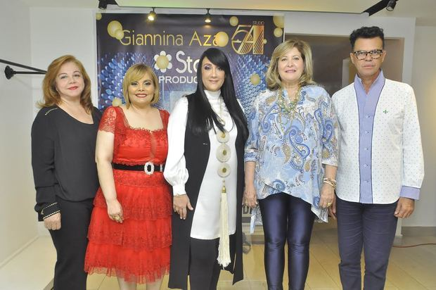 """Star Product ofreció un coctel para dar detalles del desfile de Giannina Azar """"Studio 54"""" en DM 2019"""