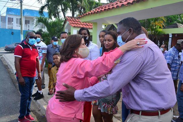 Margarita recibe el respaldo de cientos de dirigentes del PLD en Guerra, Boca Chica y Santo Domingo Este