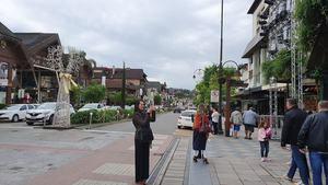 Gramado es la réplica de una ciudad Suiza.