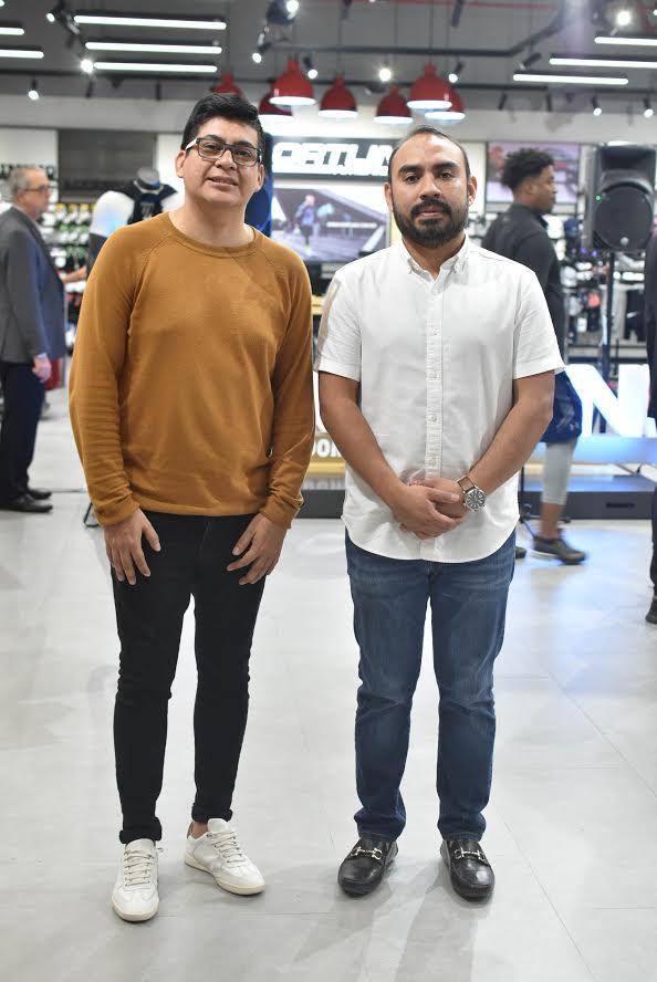 Hugo Ávila y Jonatan Cobox.