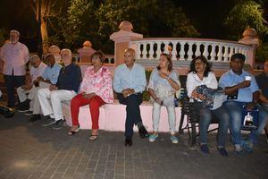 Escritores y poetas presentes en el homenaje a Gómez Rosa.