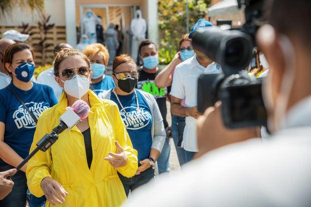 ADN continúa labor de prevención del Covid 19 en barrios