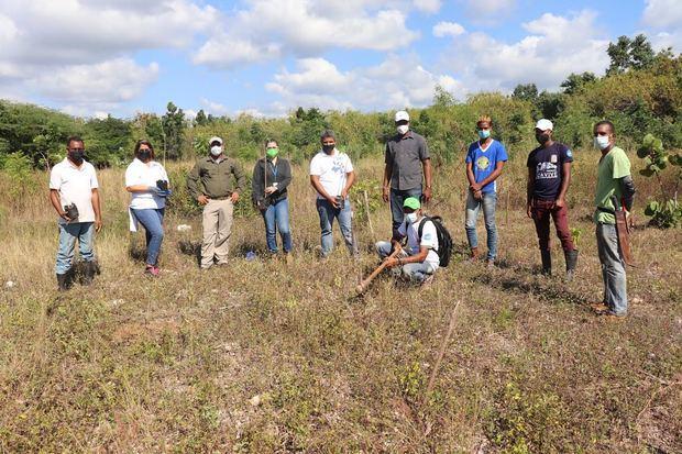 SM Junto a EcoRed y Jardín Botánico realizan jornada de reforestación de Roblillo