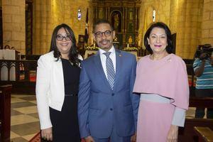 Saida Fernández, José Eduardo Mancebo y Rosa Rita Álvarez Khouri.