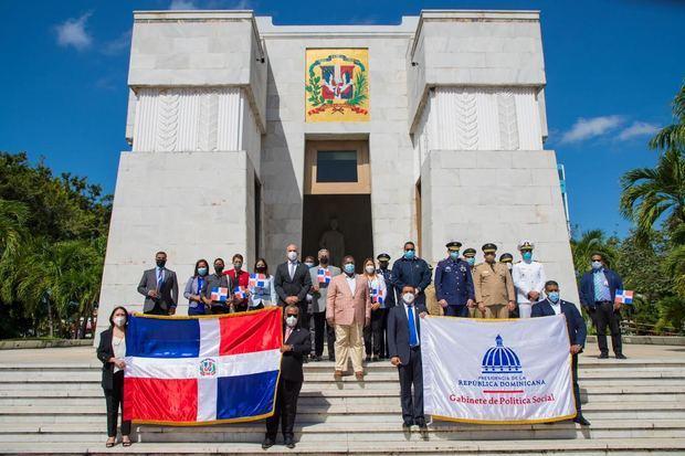 Gabinete de Política Social conmemora 158 aniversario de la Restauración de la Independencia