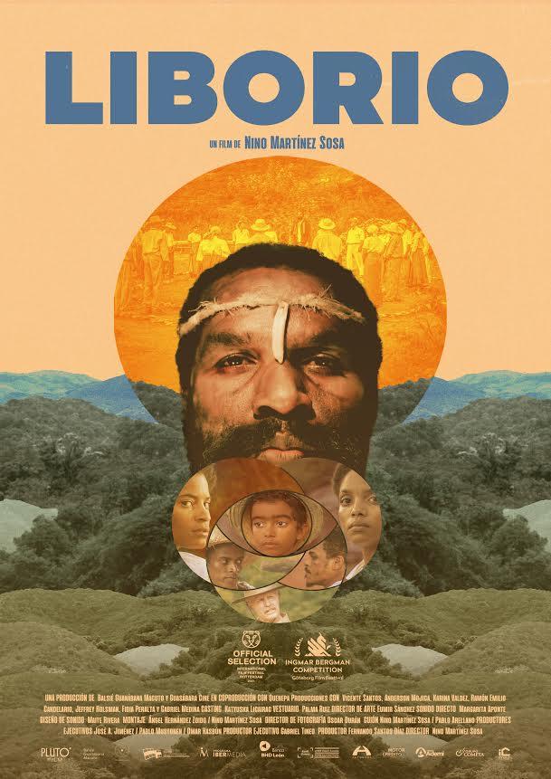 Cartel oficial de Liborio, la primera película dominicana aceptada en el prestigioso Festival de Cine Tercer Milenio, de El  Vaticano.