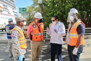 El Director Ejecutivo Víctor Gómez Casanova y el Gobernador provincial Teodoro Reyes encabezaron el operativo de recibimiento.