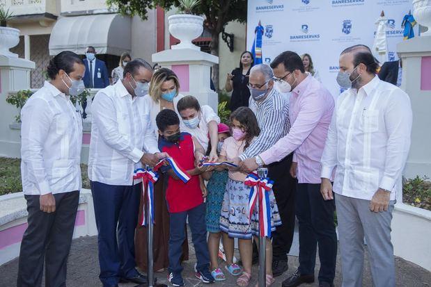 Banreservas y el ADN inician en la Ciudad Colonial inauguración de 80 parques y plazas remozadas