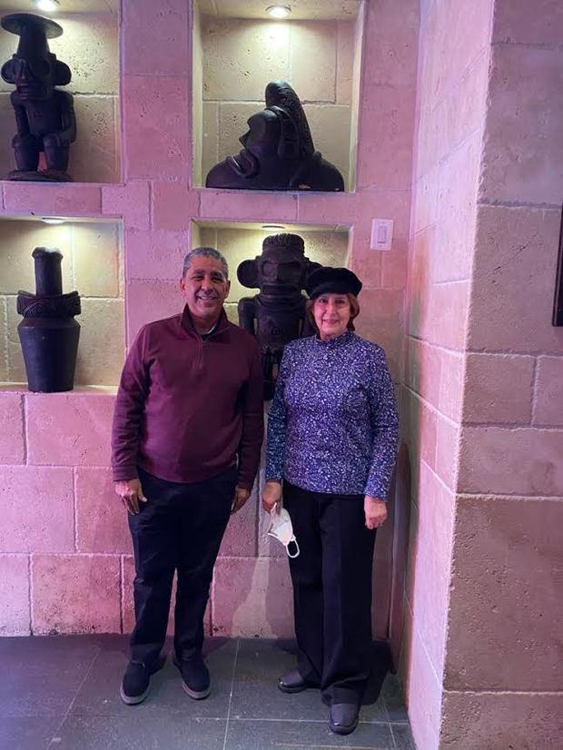 La ministra de Cultura, Carmen Heredia, durante su visita a New York se reunió con Adriano Espaillat, miembro de la Cámara de Representantes de los Estados Unidos.
