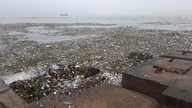 Las unidades de ITABO son afectadas por toneladas de basura en la toma de agua