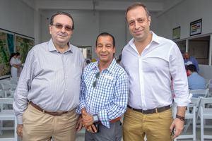 Ángel García, Herpi Peralta y Santiago Rivera.