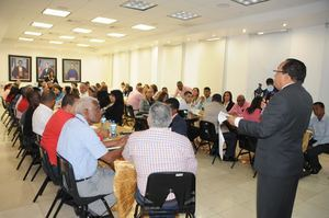 Inician taller de capacitación para un levantamiento de la data de información a nivel nacional.